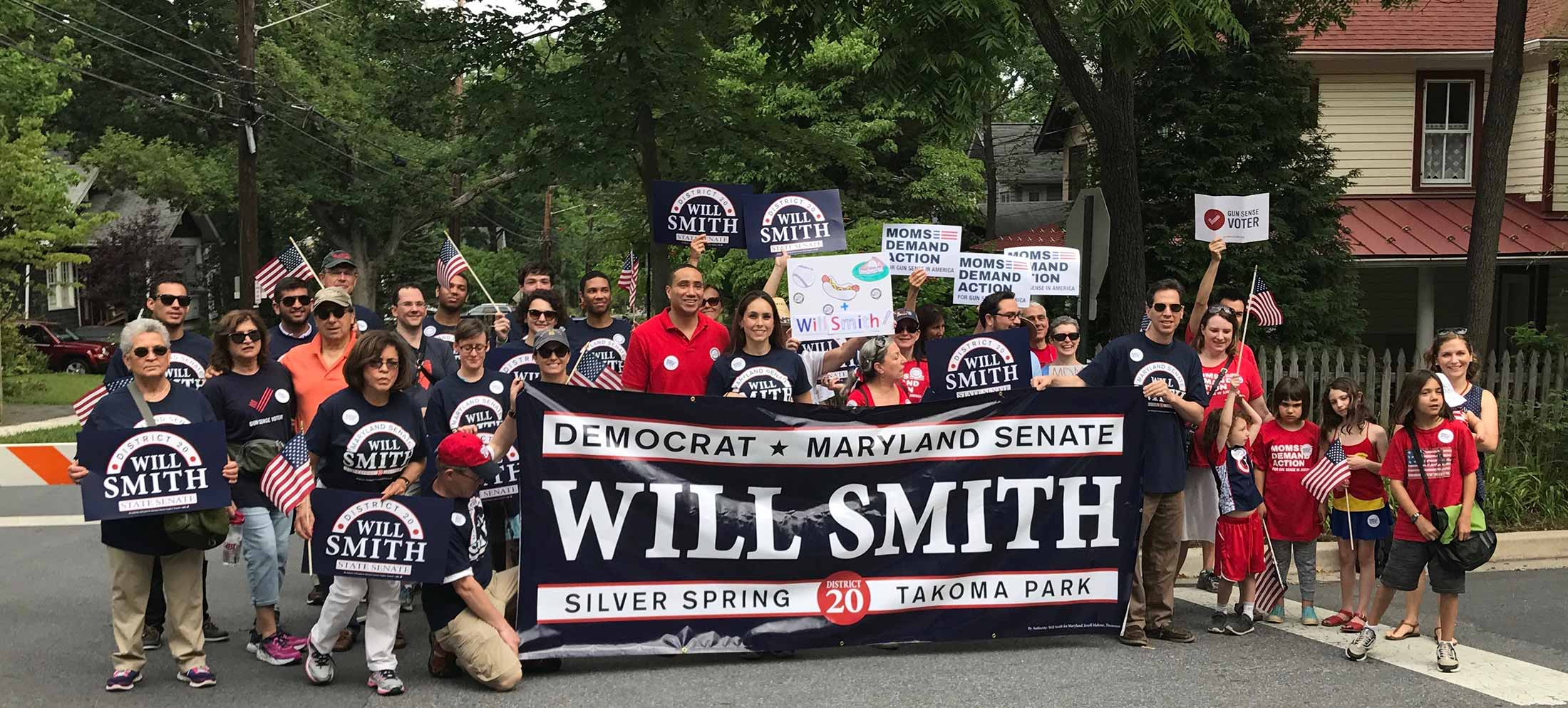 Will Smith for Maryland State Senate